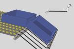 EDC834 staffa per presentazione ergonomica contenitori