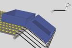 EDC835 staffa per presentazione ergonomica contenitori