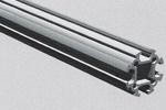 Aluminium tubular profile L=4000 mm
