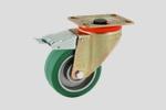 EKR16 - ruota con piastra e freno serie P